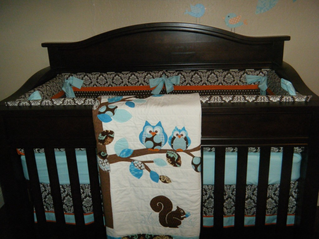 Picture of: Owl Nursery Bedding  just