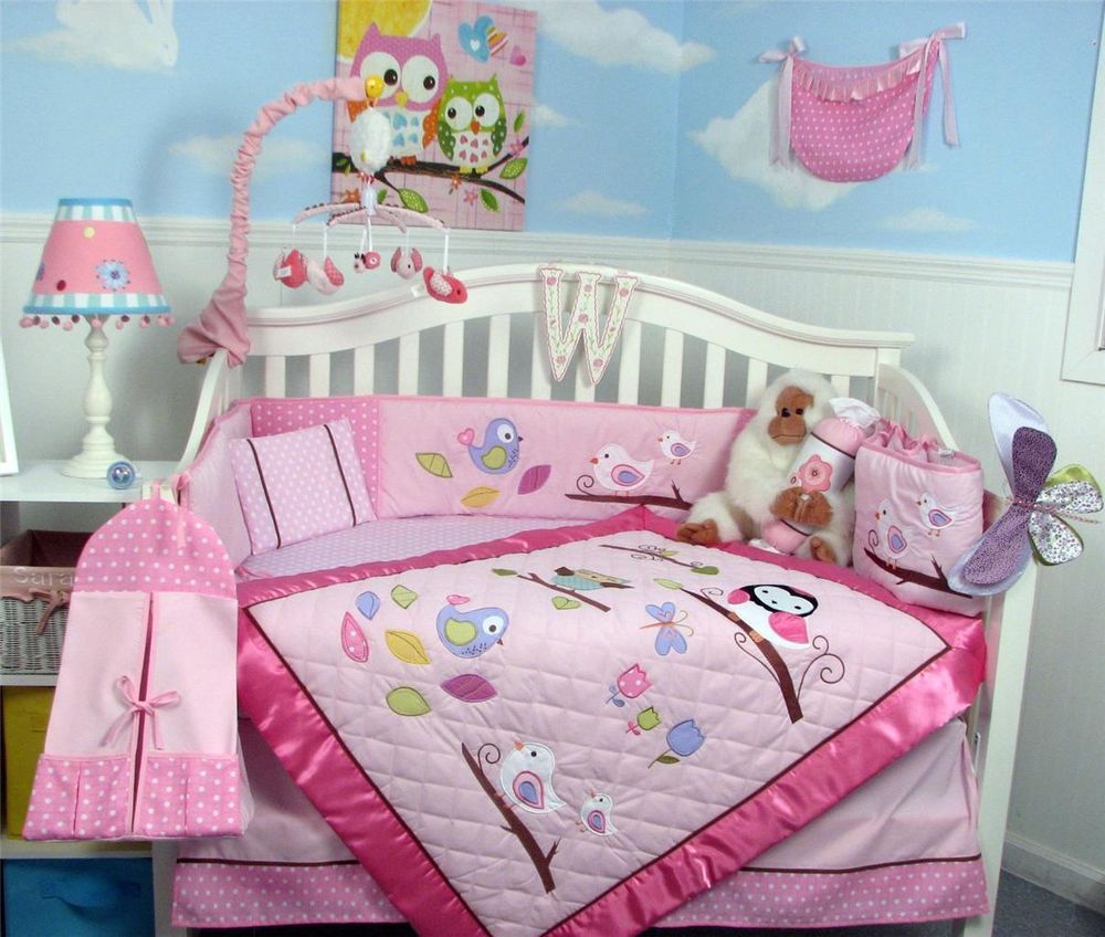 Picture of: Owl Nursery Bedding  nail
