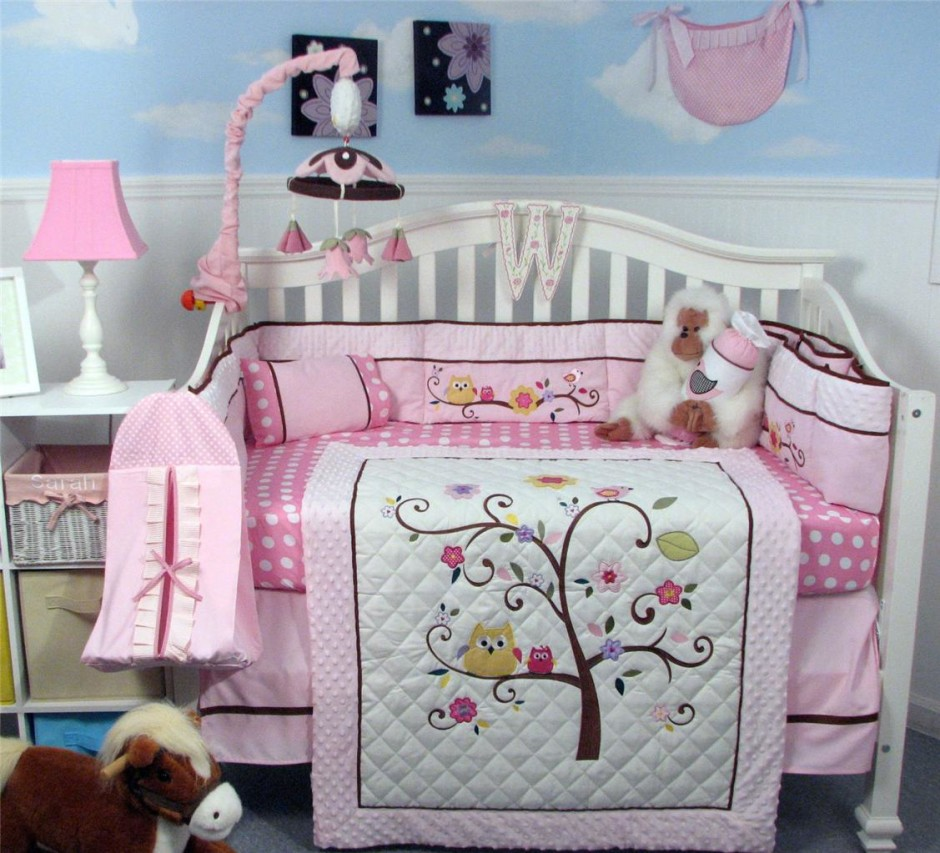 Picture of: Owl Nursery Bedding  zoom