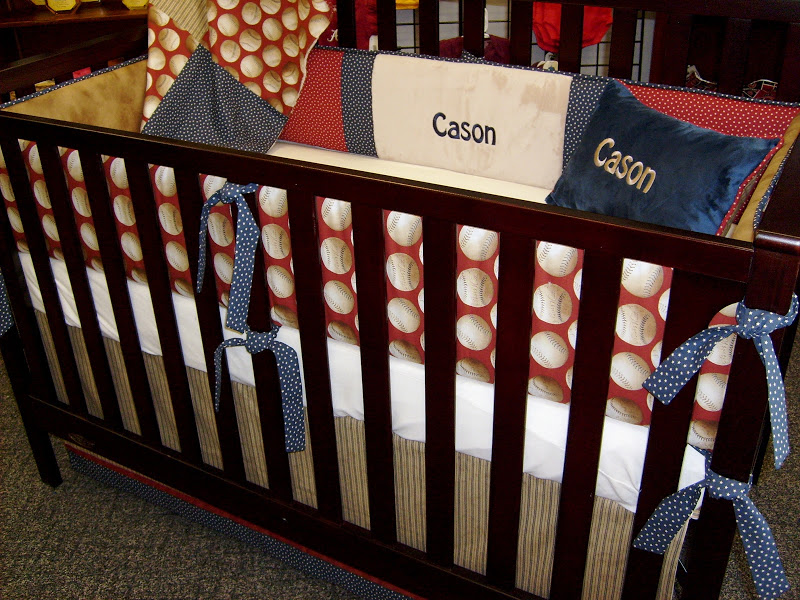 Picture of: Perfect Baseball Nursery Bedding