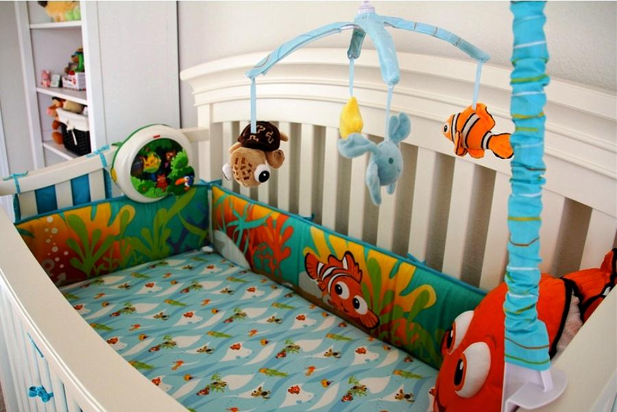 Picture of: Perfect Finding Nemo Nursery