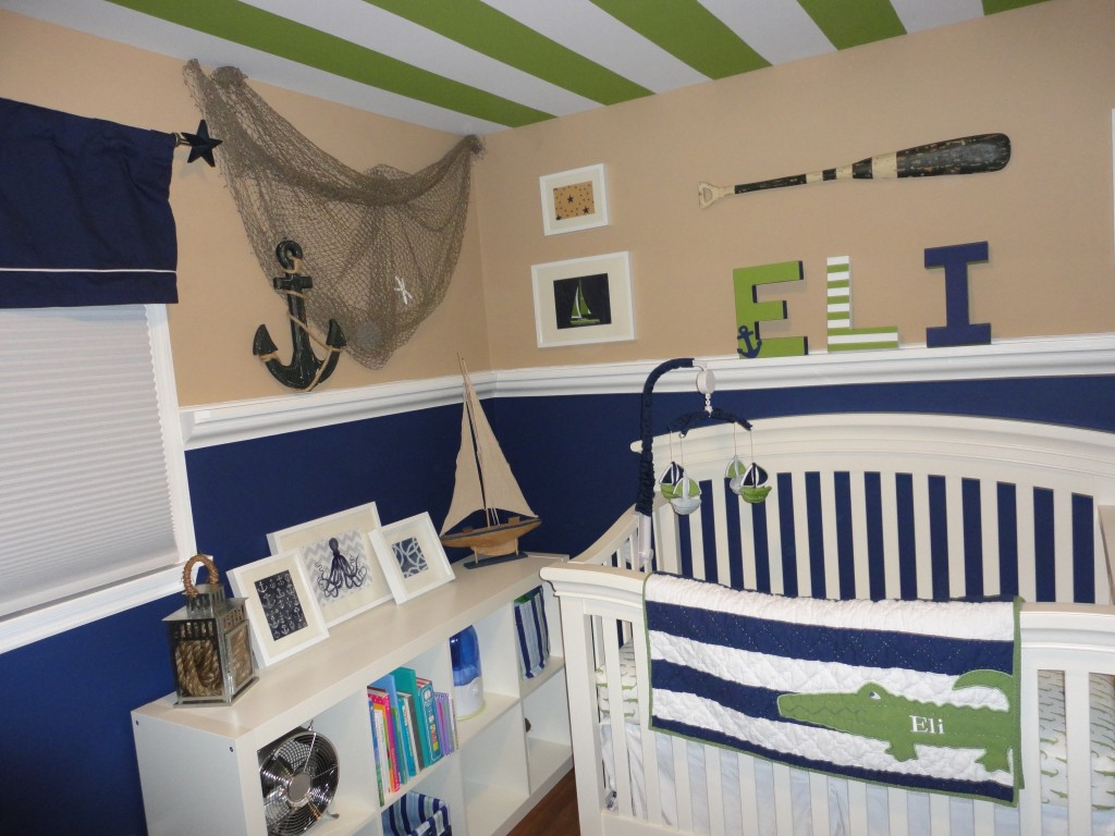 Image of: Perfect Nautical Nursery Bedding