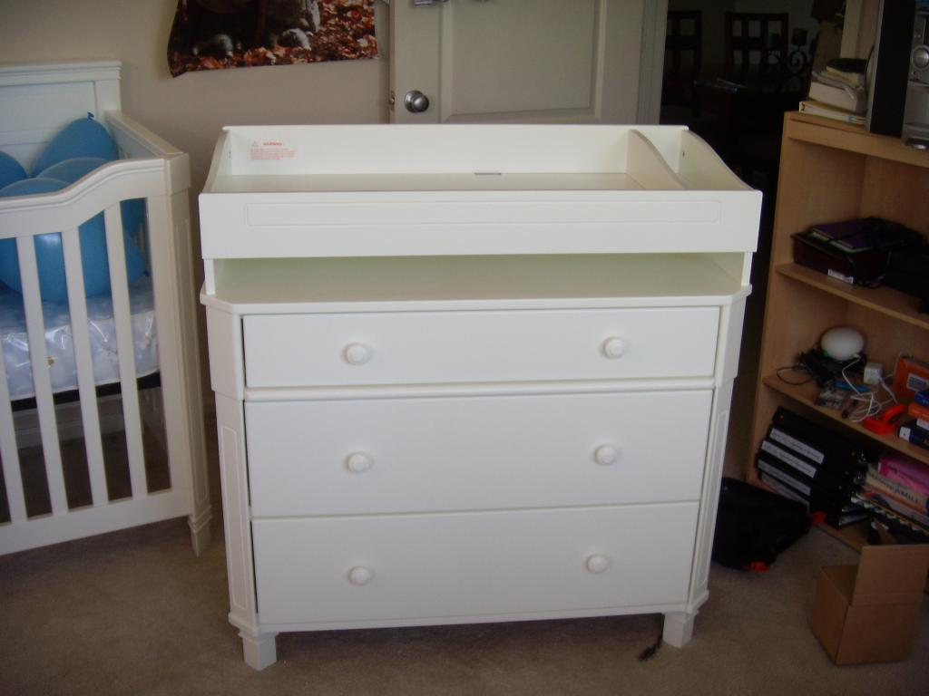 Perfect White Dresser For Nursery