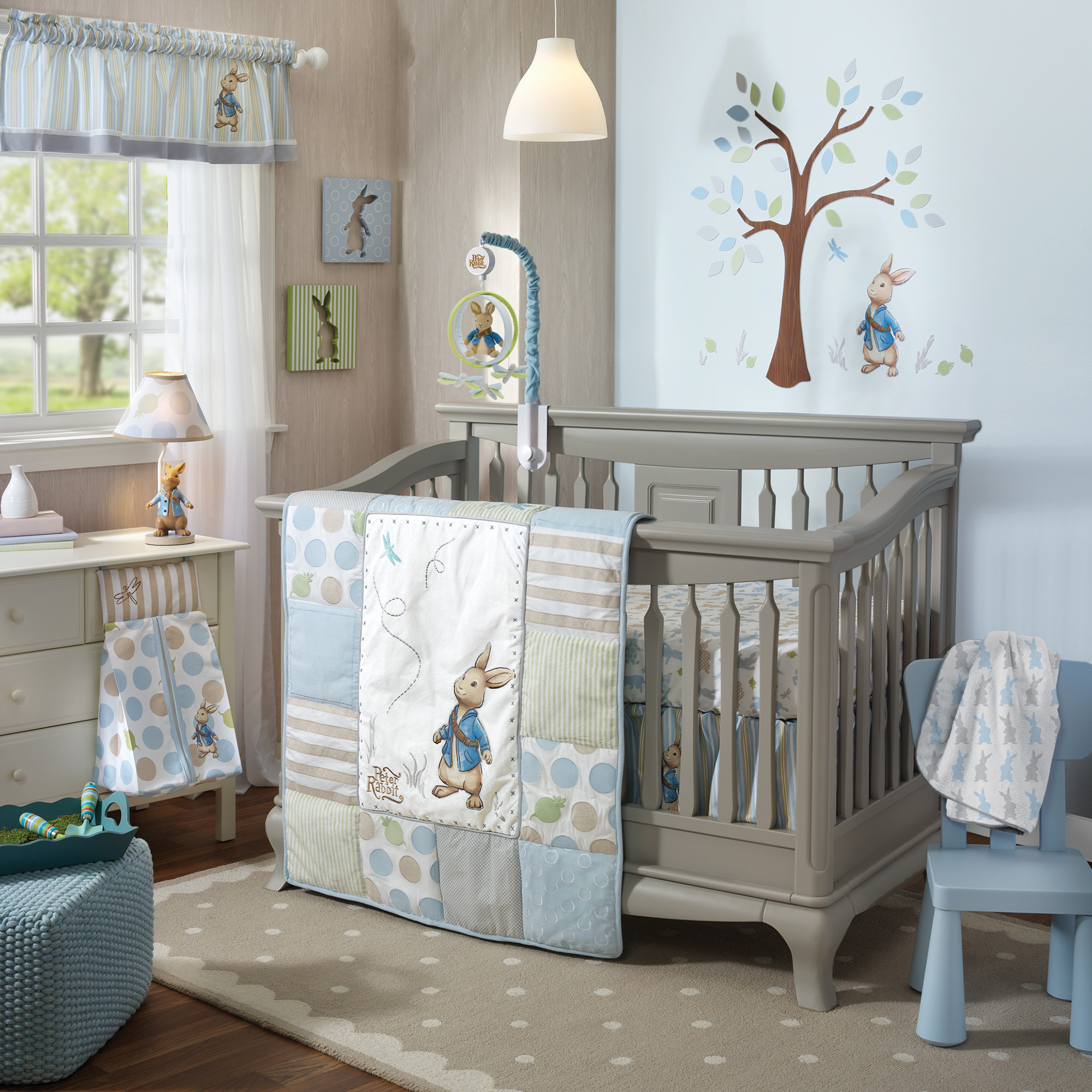 Picture of: Peter Rabbit Nursery blue