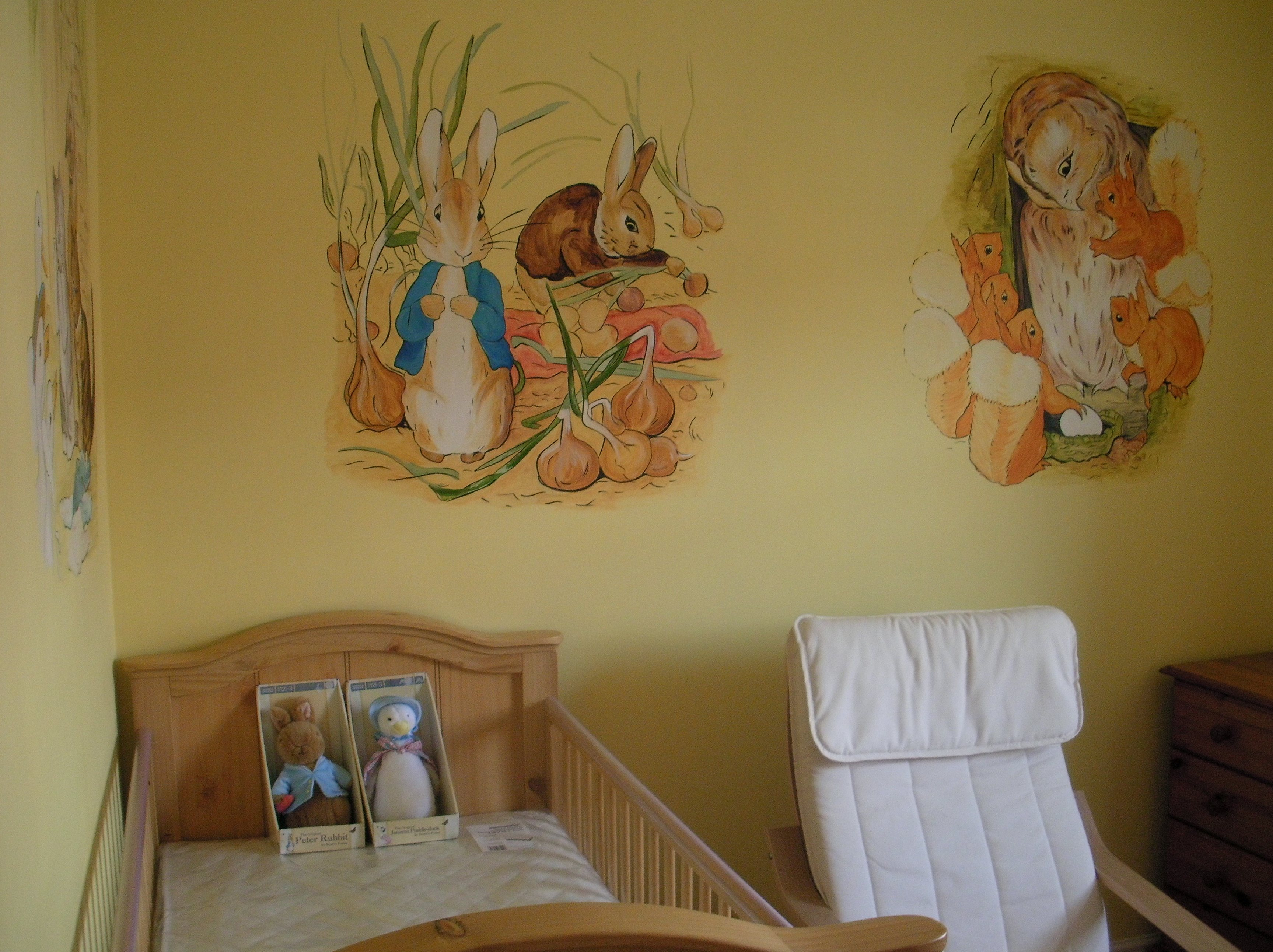 Image of: Peter Rabbit Nursery floor