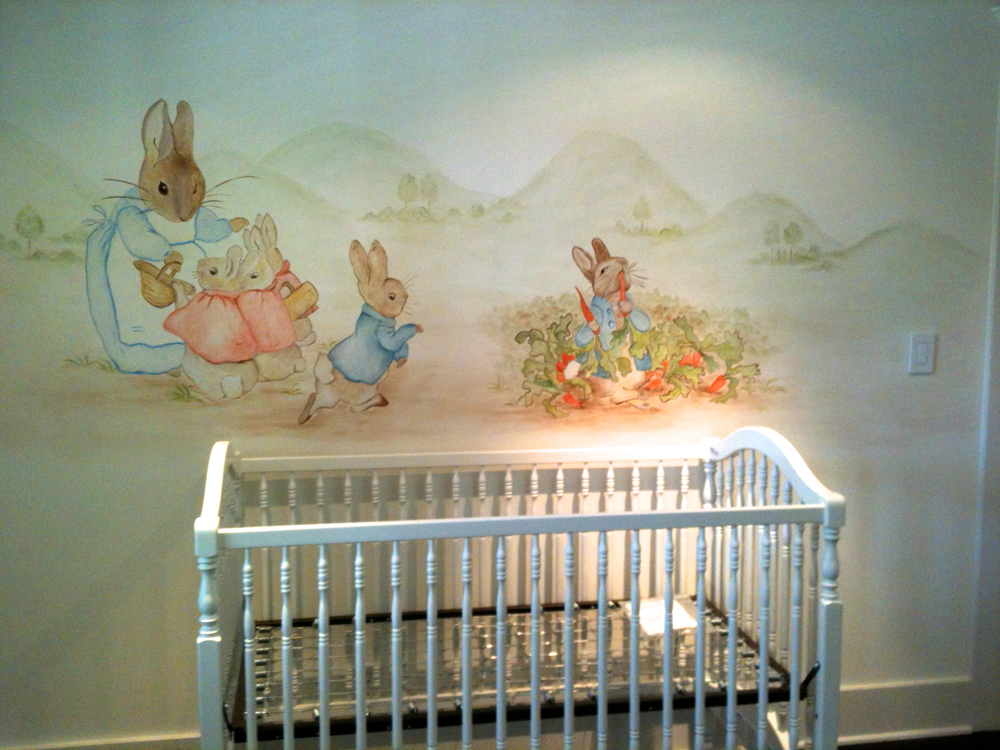 Image of: Peter Rabbit Nursery hot