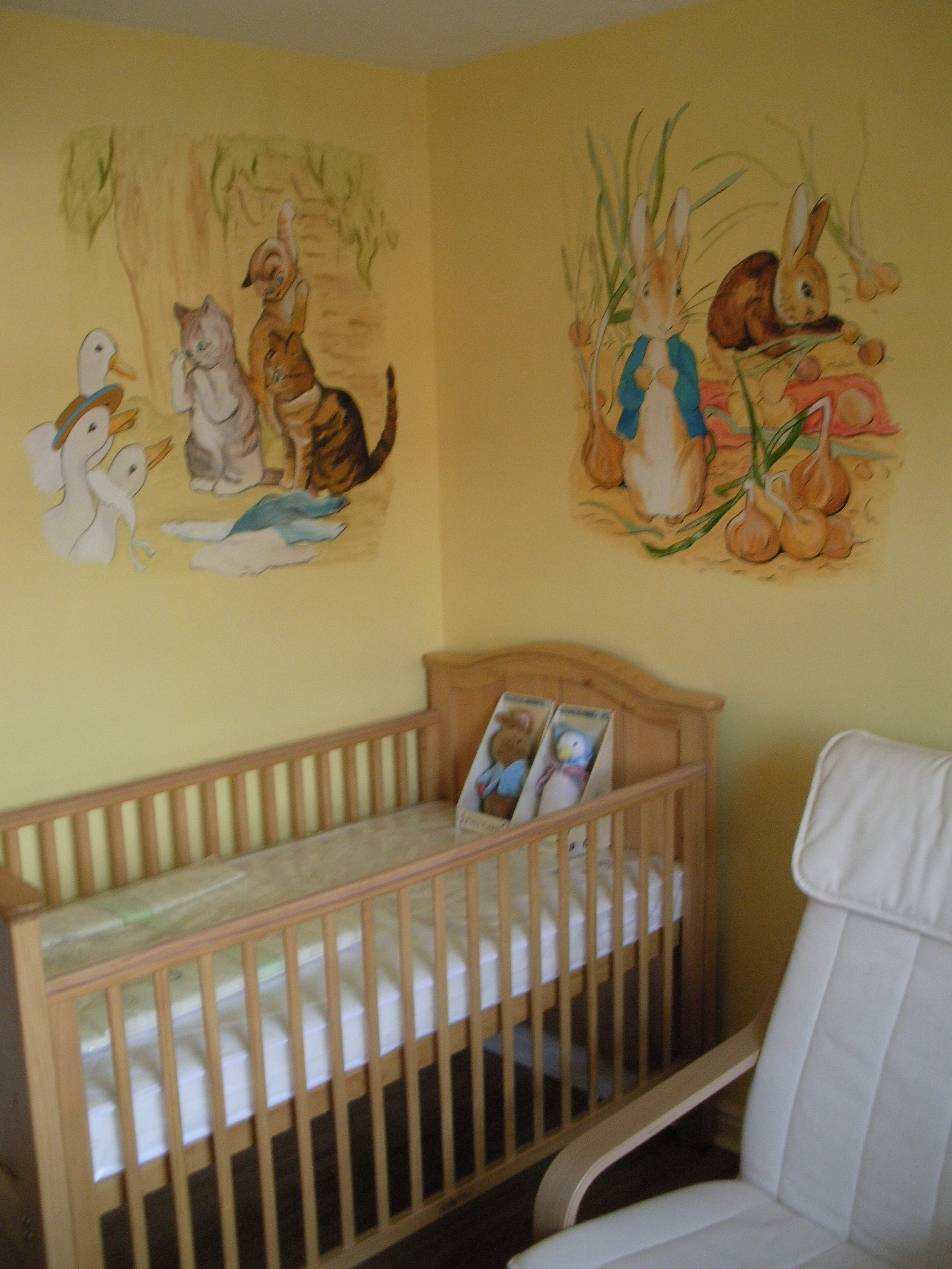 Image of: Peter Rabbit Nursery purple
