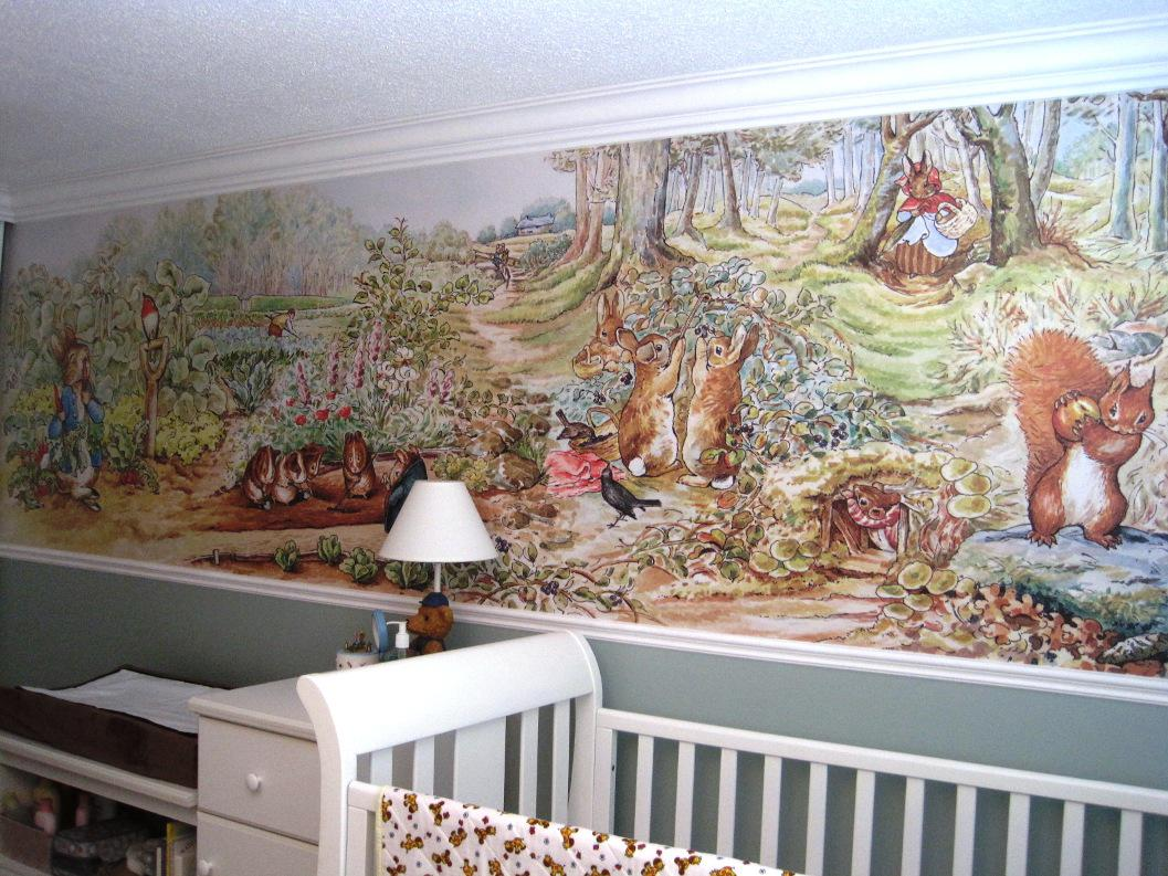 Image of: Peter Rabbit Nursery tall