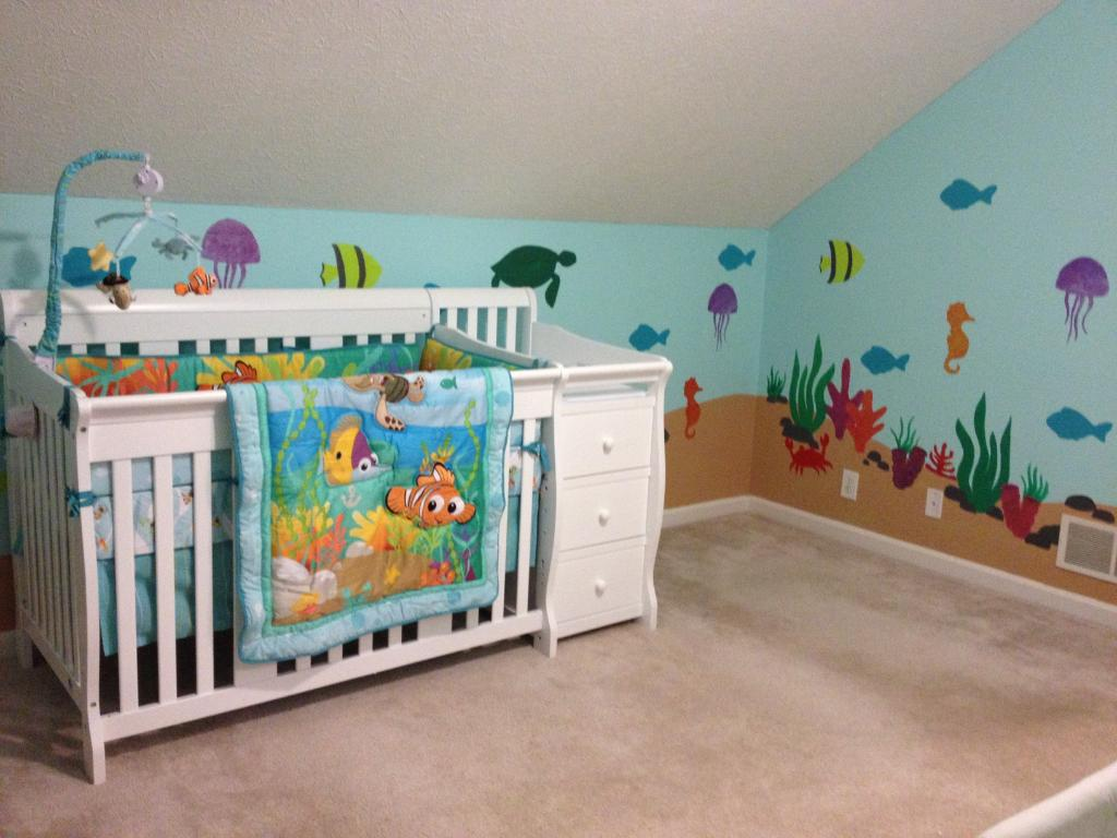 Picture of: Photos of Ocean Themed Nursery
