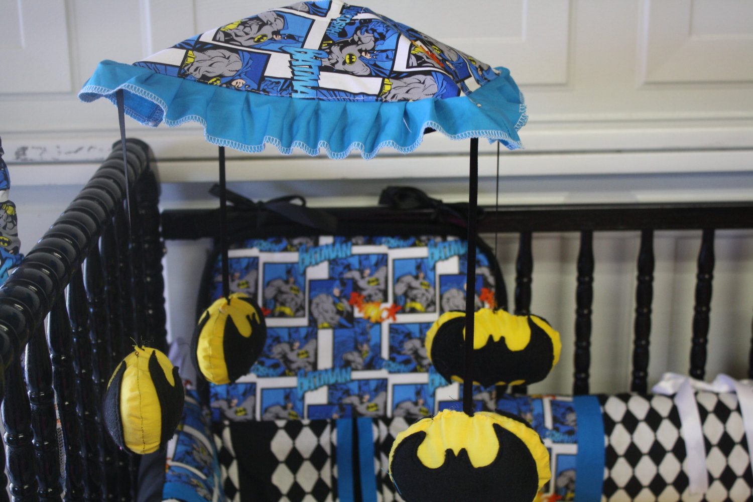 Picture of: Picture of Batman Nursery Bedding