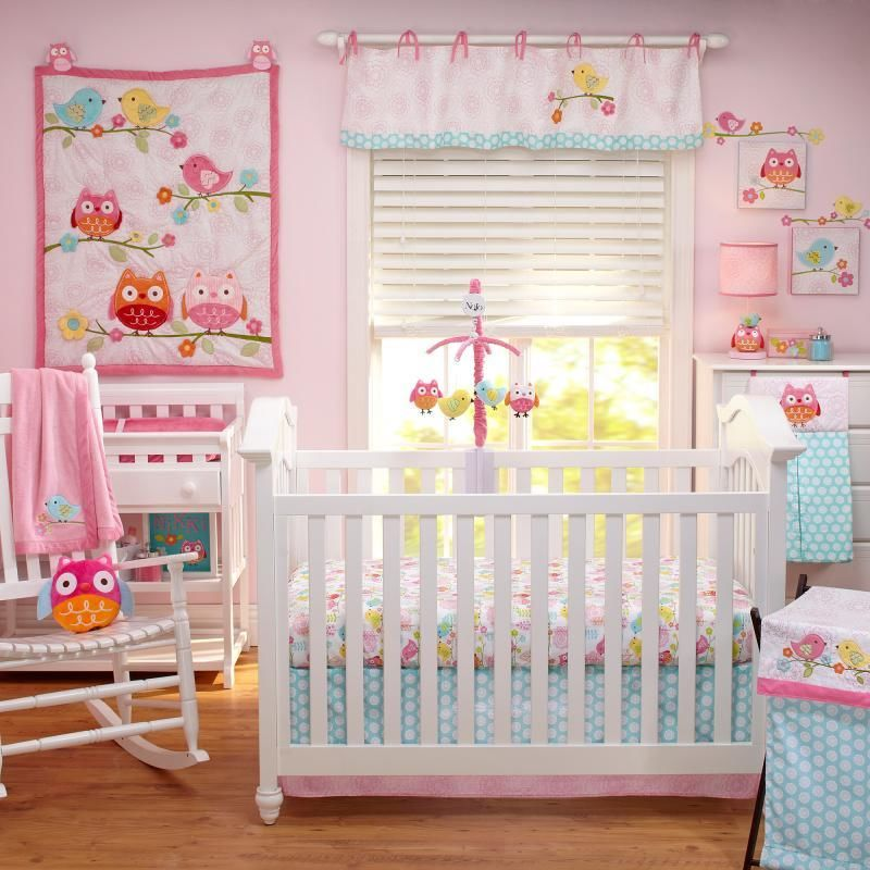 Image of: Pink Animal Prints for Nursery