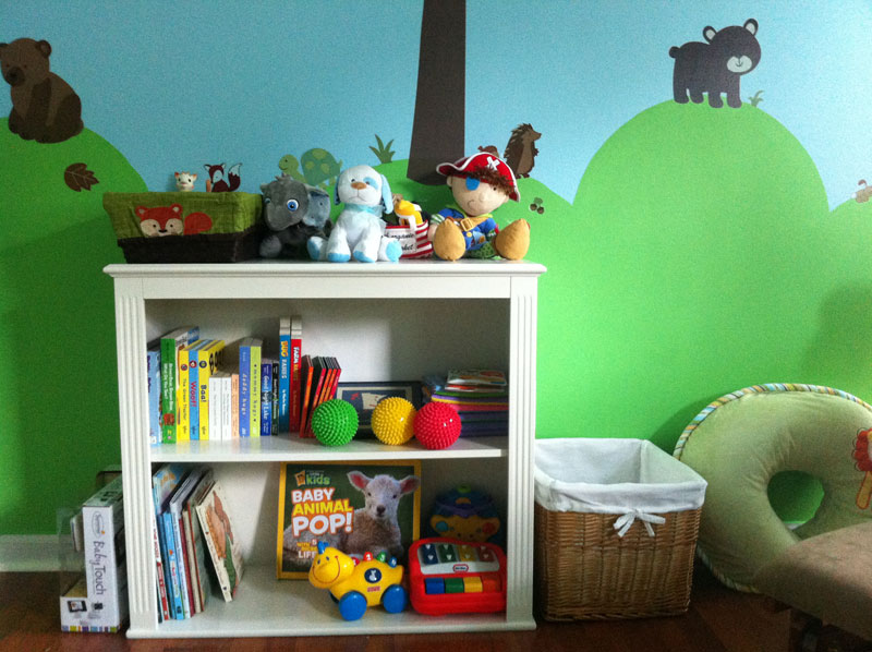 Image of: Popular Forest Themed Nursery