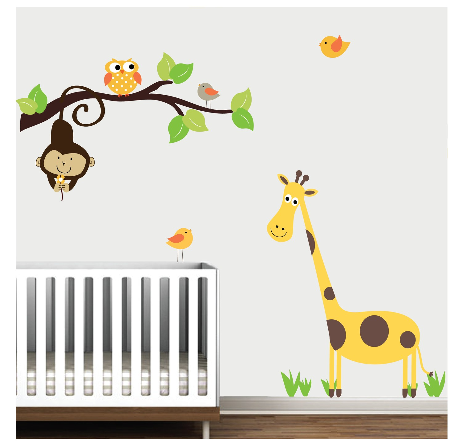 Image of: Popular Giraffe Nursery