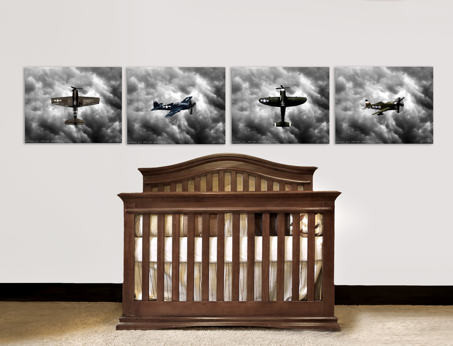 Picture of: Popular Vintage Airplane Nursery