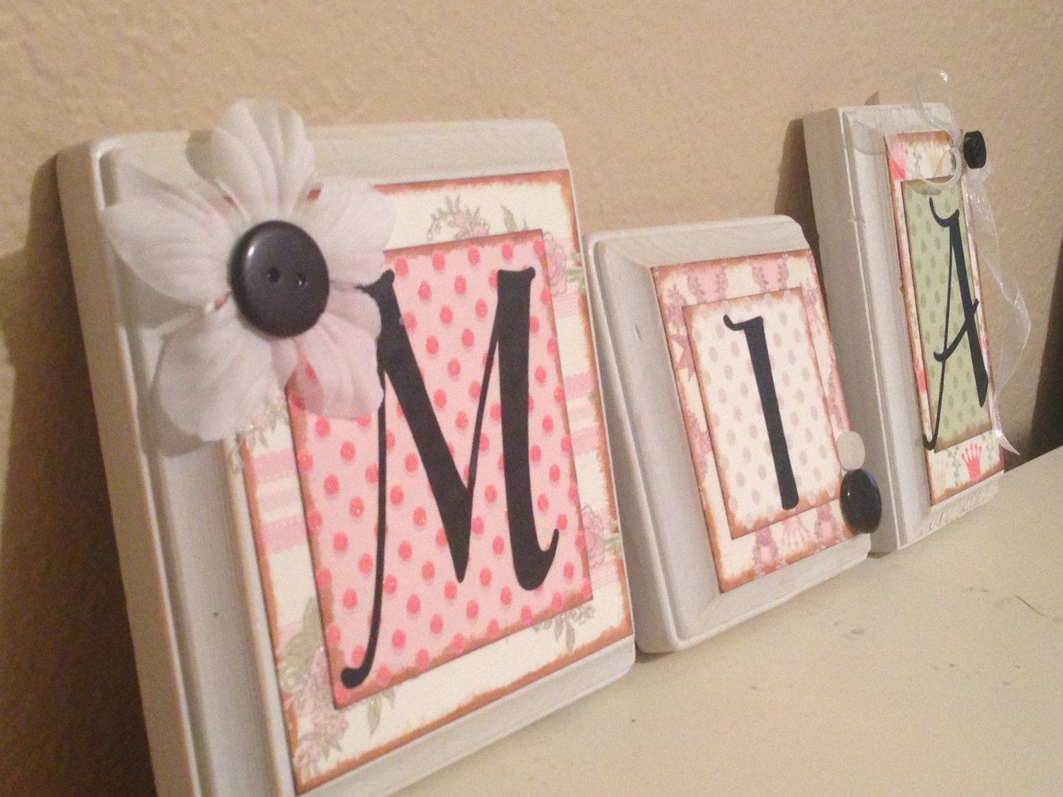 Picture of: Popular Wall Letters for Nursery