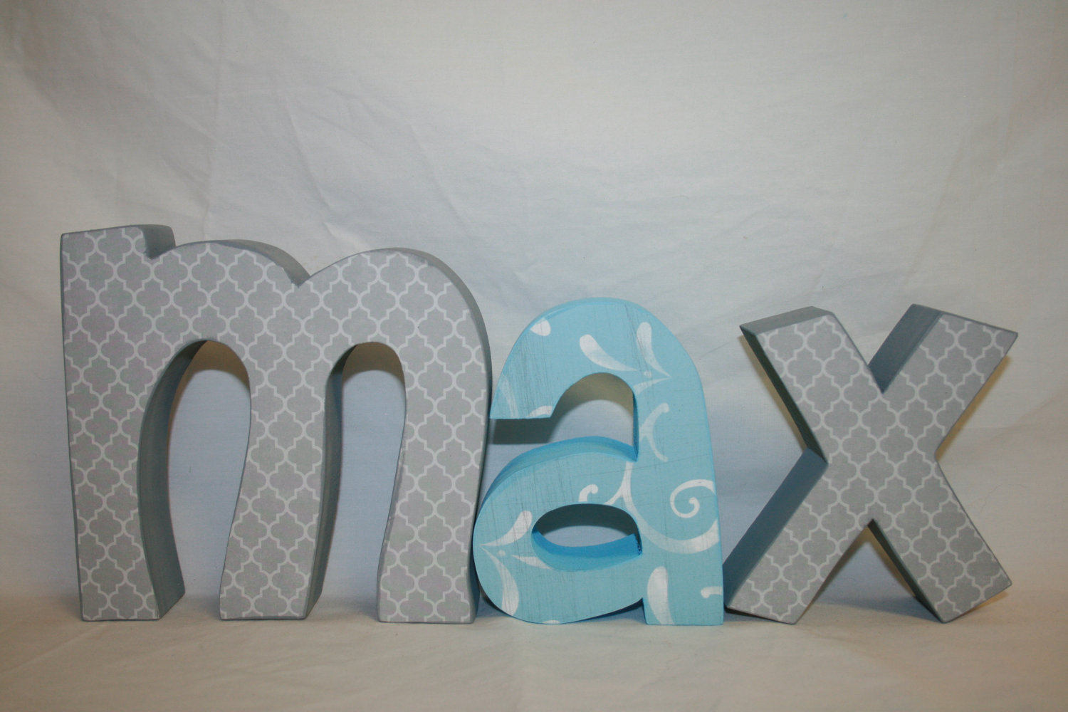 Por Wooden Letters For Nursery