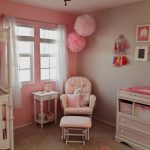 Pretty Shabby Chic Nursery