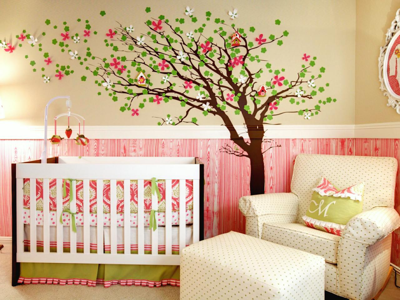 Picture of: Pretty in Bird Nursery Bedding