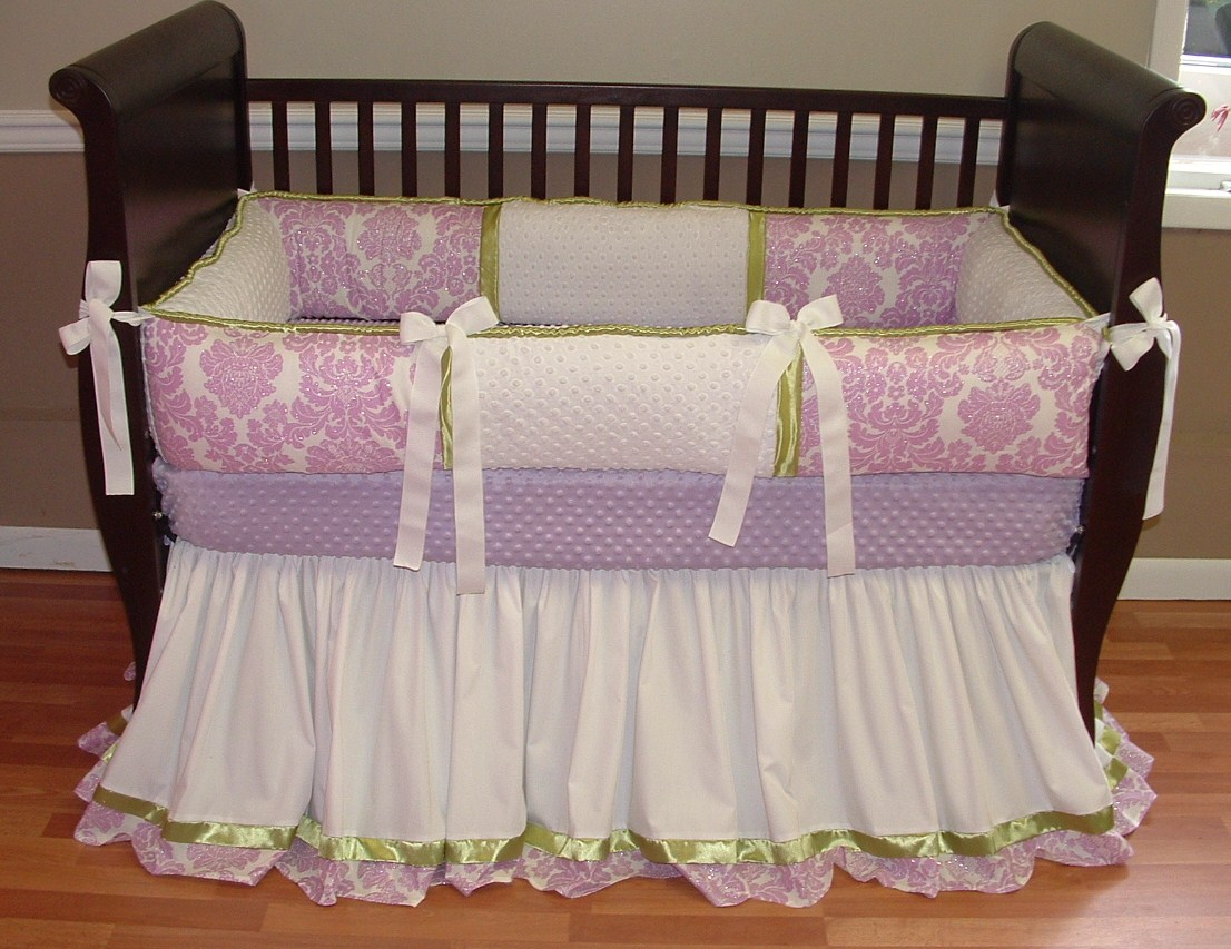 Picture of: Purple Nursery Bedding Baby