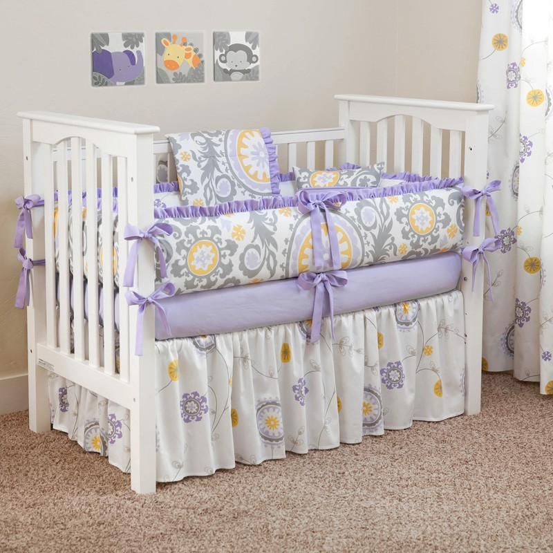 Picture of: Purple Nursery Bedding Sets