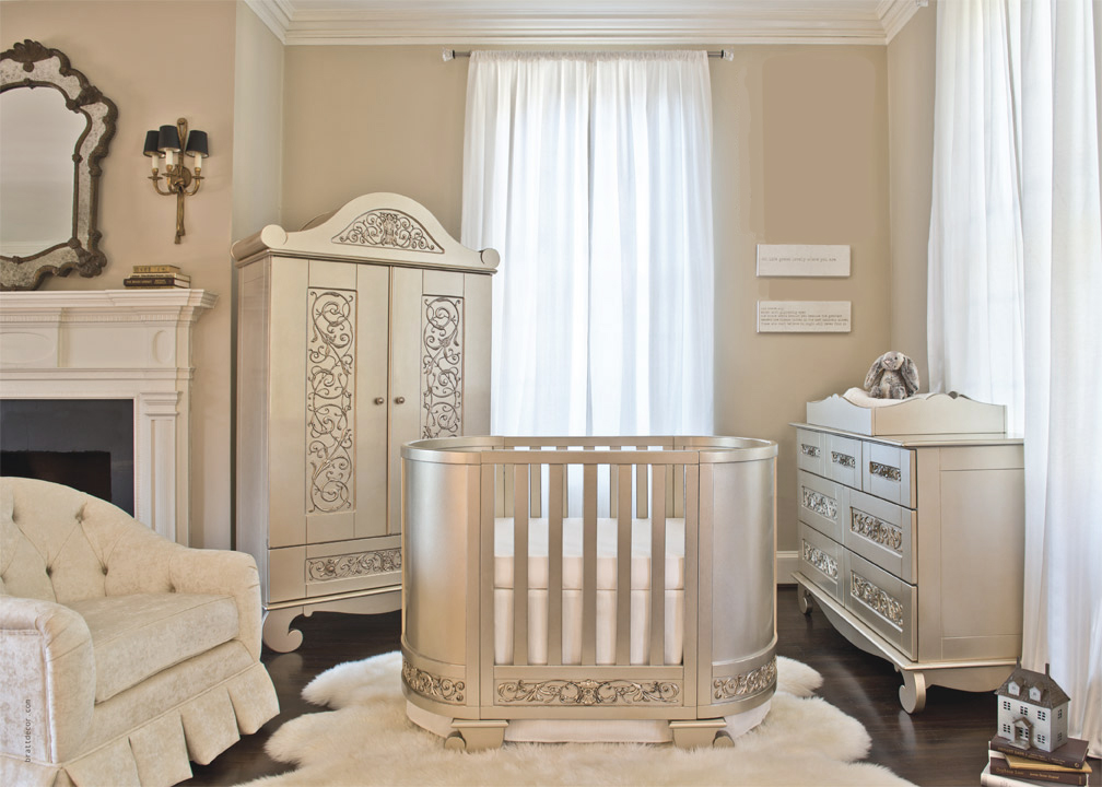 Image of: Rocker Recliner Nursery Decorating