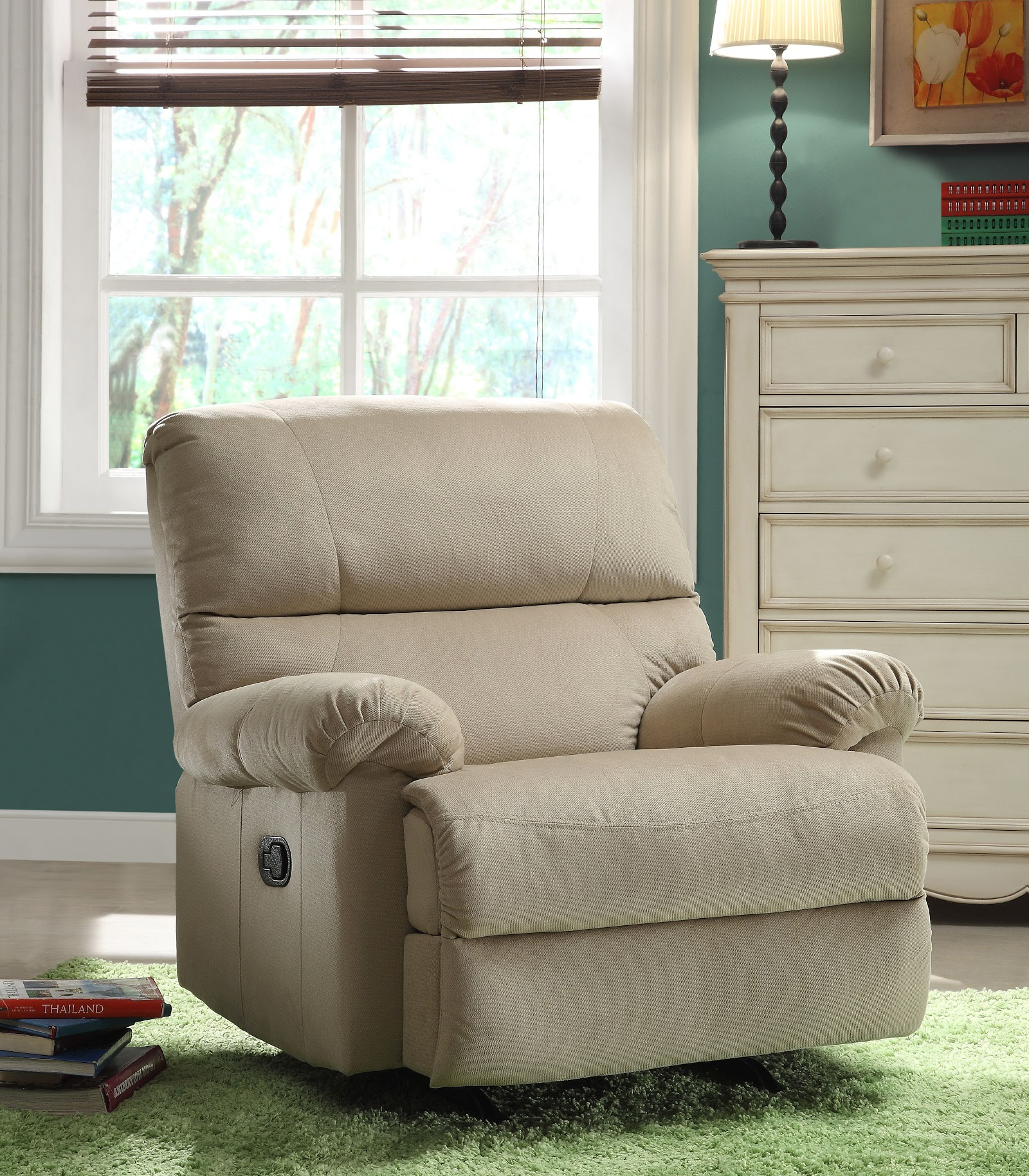 Image of: Rocker Recliner Nursery