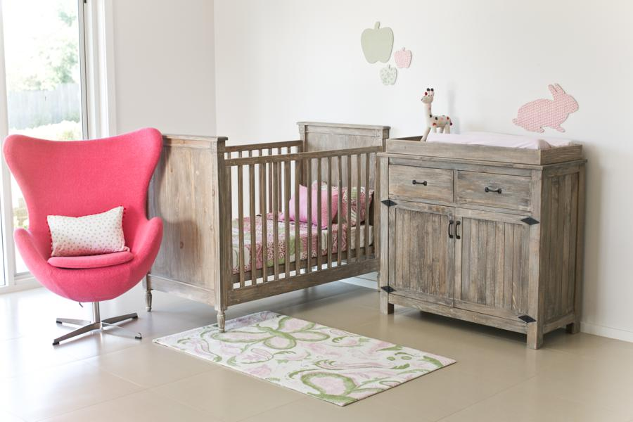 Picture of: Rustic Nursery Dresser