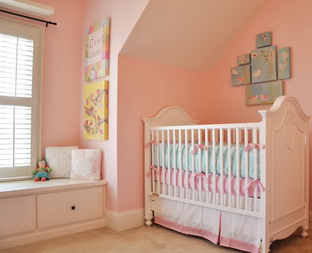 Picture of: Shabby Chic Nursery Baby