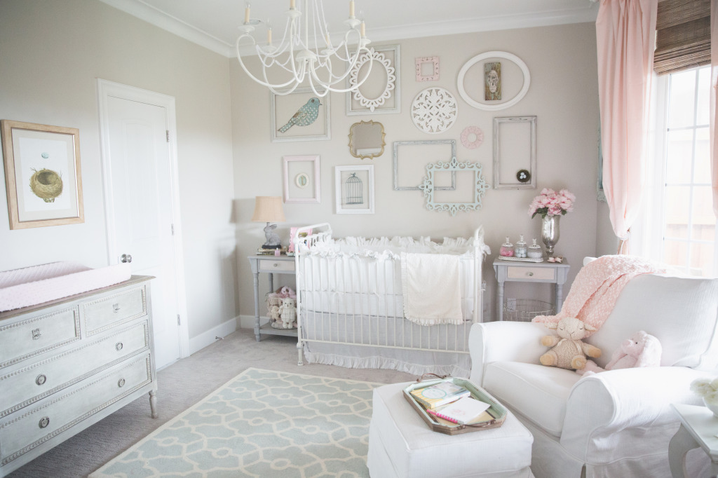 Picture of: Shabby Chic Nursery Design
