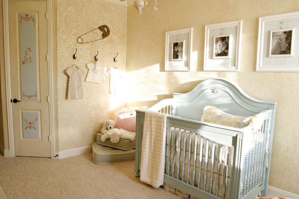 Picture of: Shabby Chic Nursery Ideas