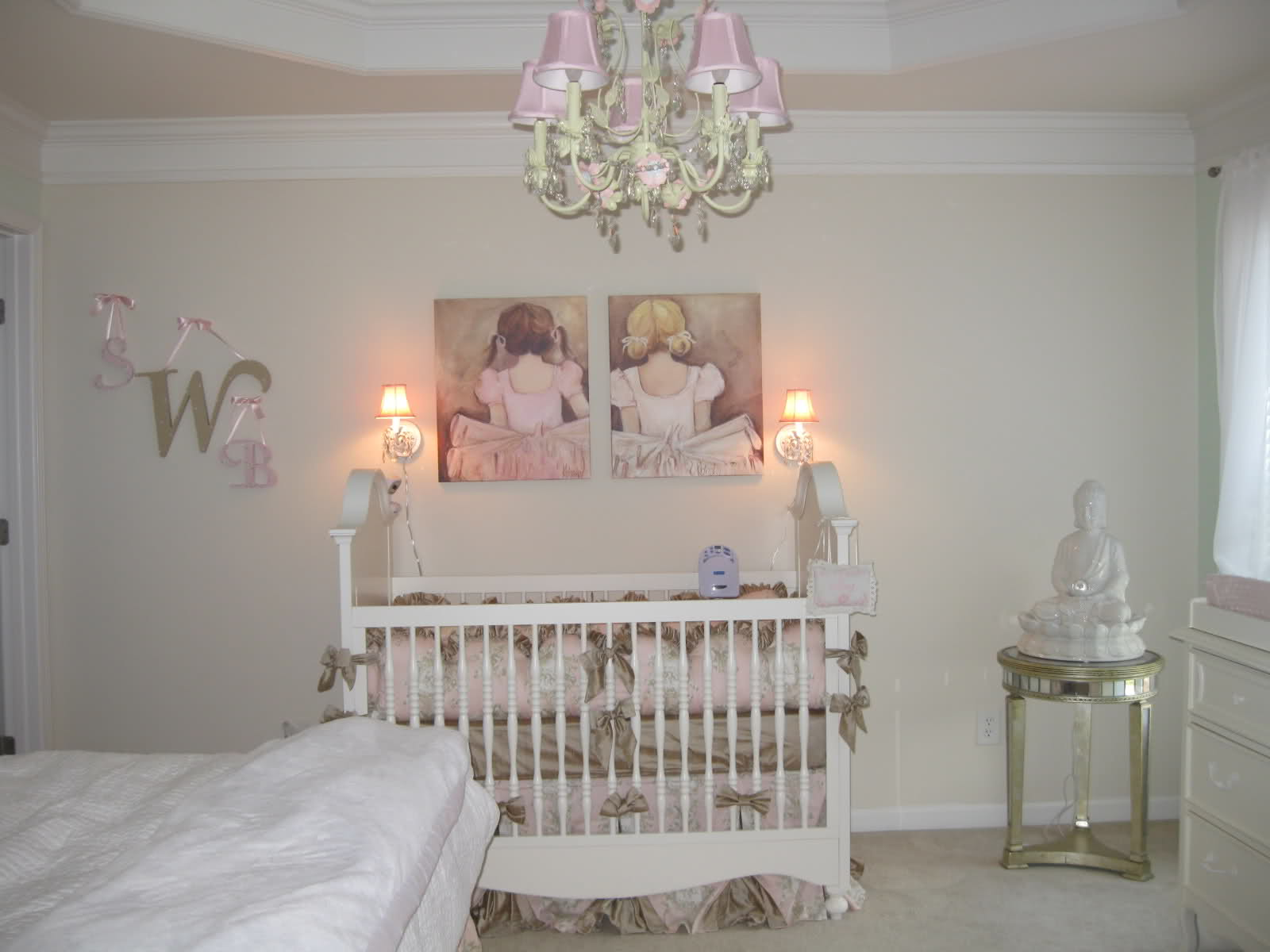 Shabby Chic Nursery Plan