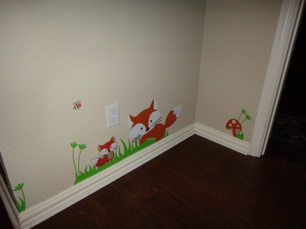 Image of: Simple Forest Themed Nursery