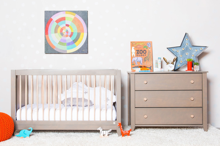 Simple Modern Nursery Bedding
