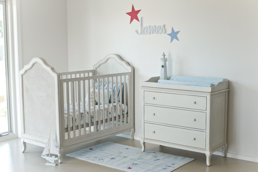 Picture of: Simple Nursery Dresser
