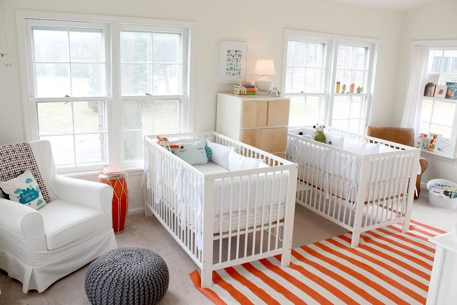 Picture of: Simple Twin Nursery Ideas