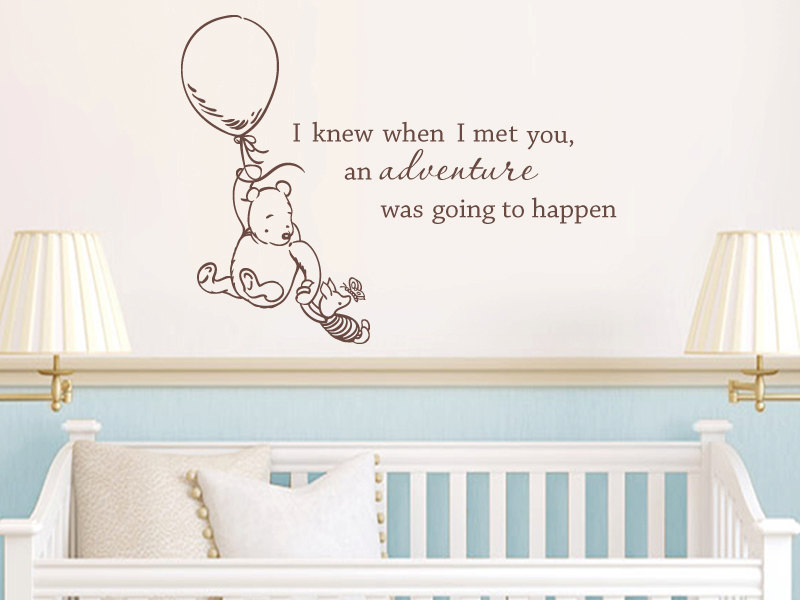 Picture of: Simple Winnie the Pooh Nursery