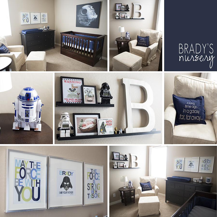 Star Wars Nursery Design