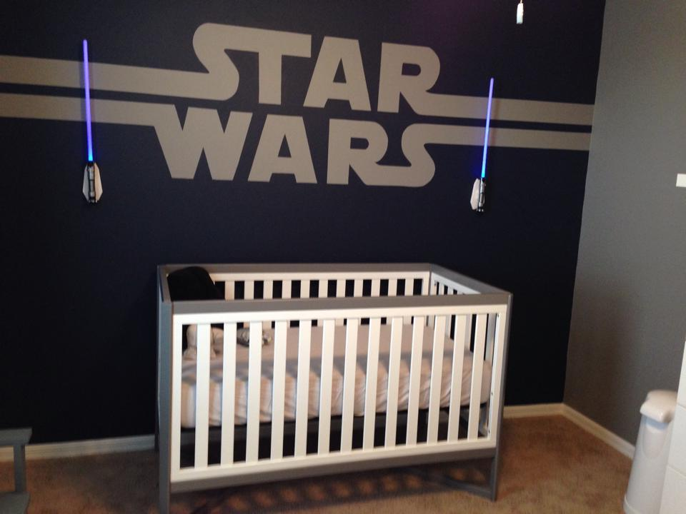 Star Wars Nursery Diy