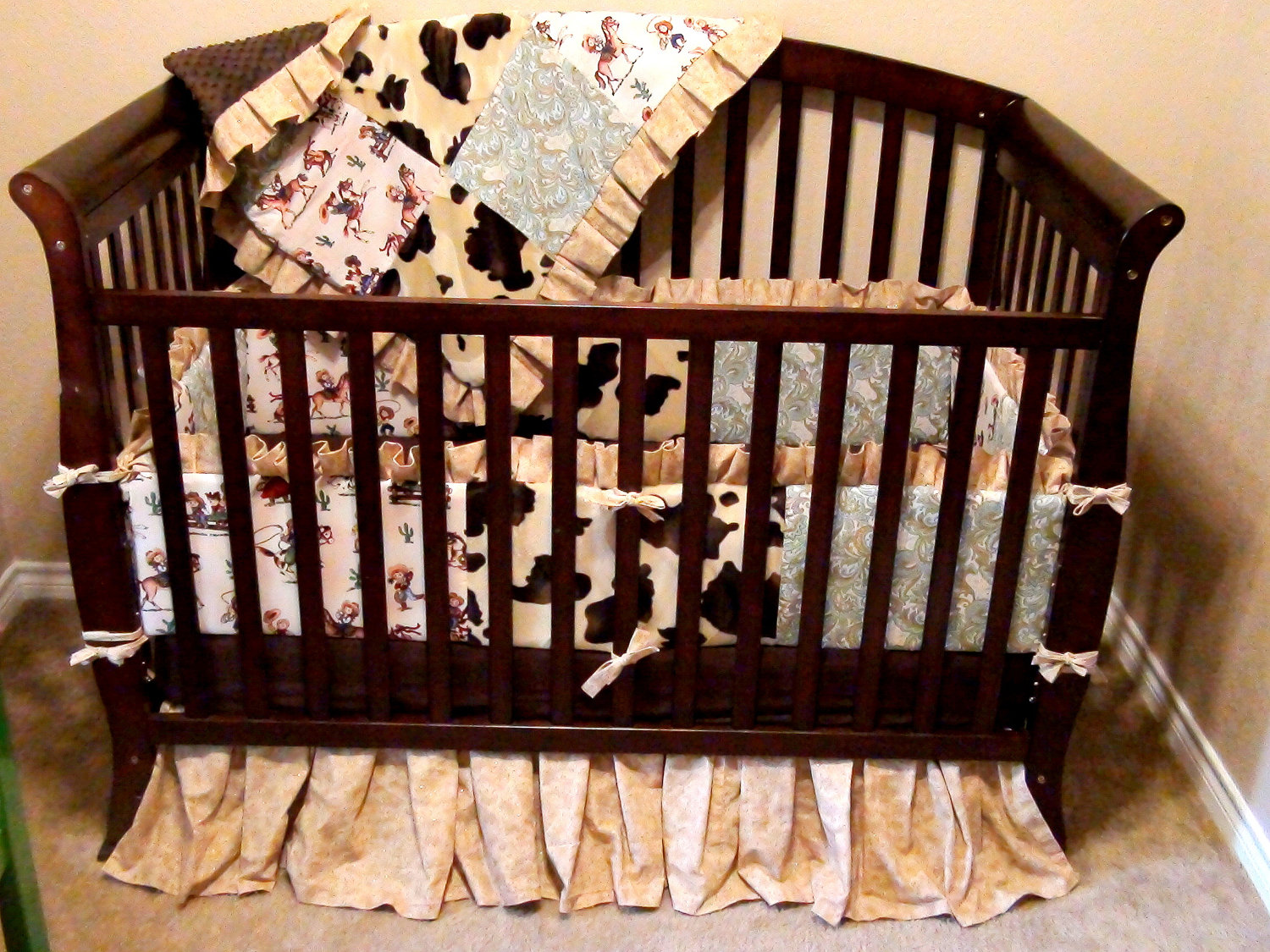 Picture of: Style of Western Nursery Bedding