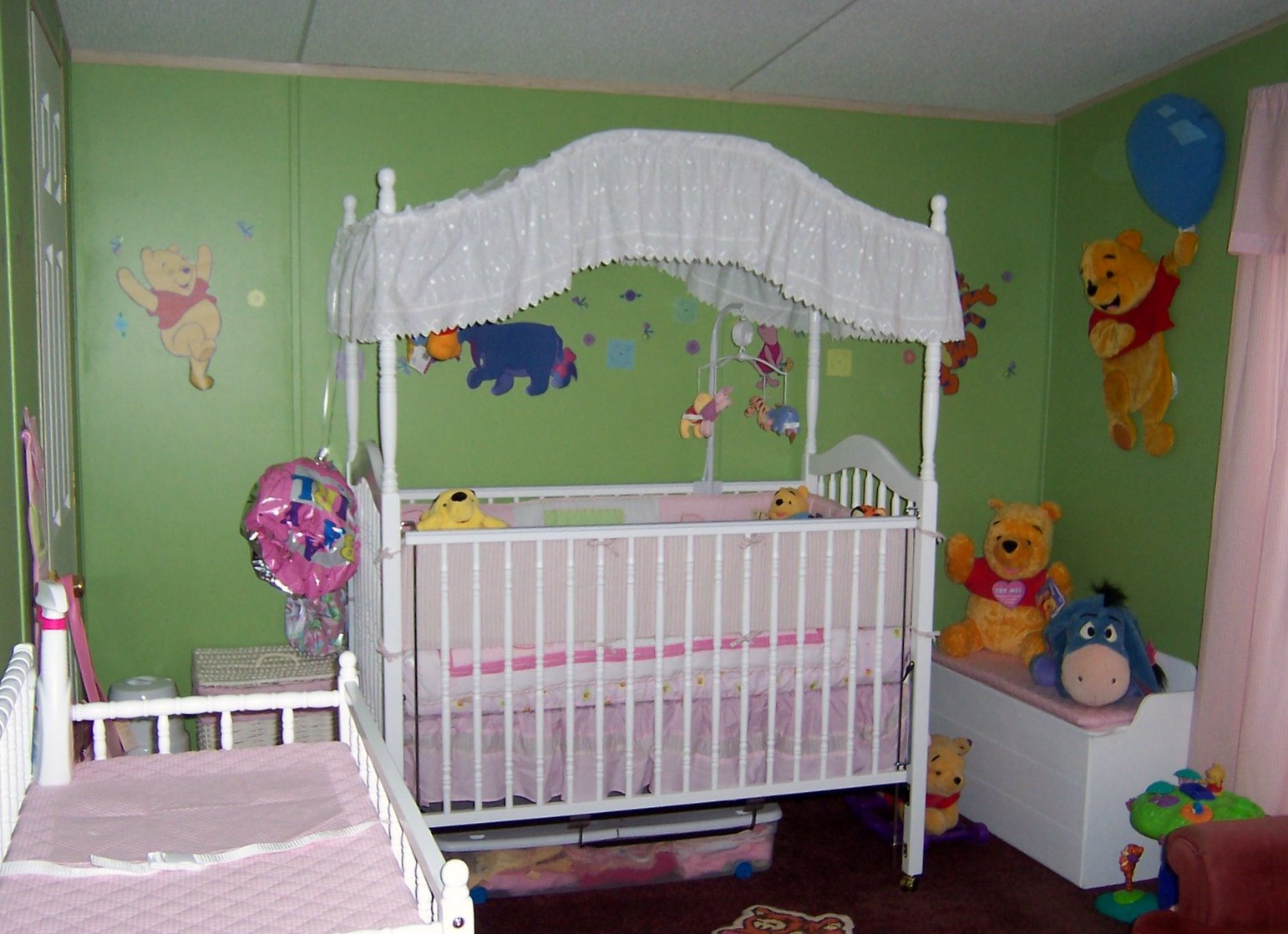 Picture of: Style of Winnie the Pooh Nursery
