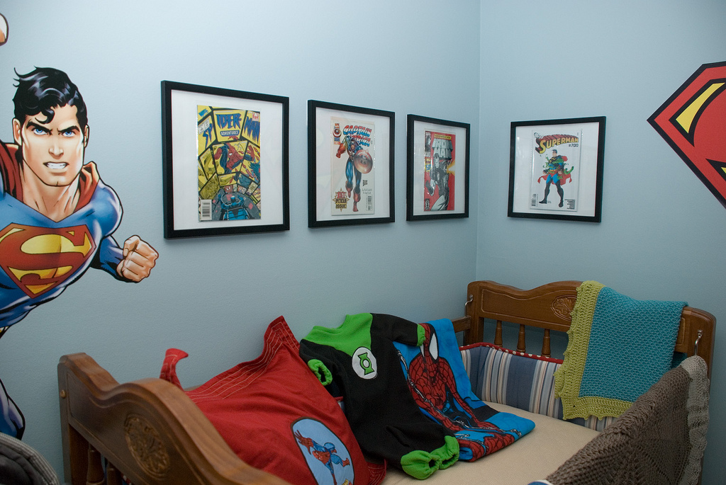 Picture of: Superhero Nursery Plan