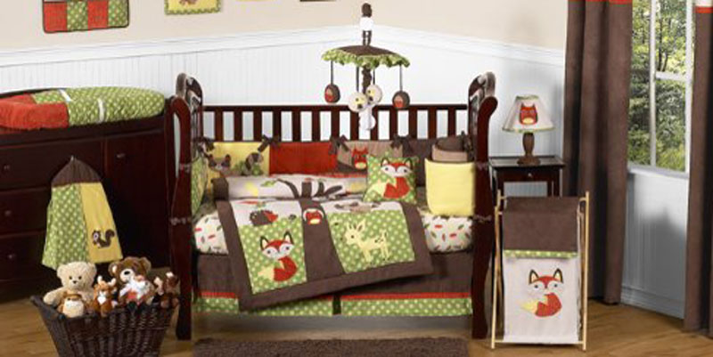 Image of: The Forest Themed Nursery