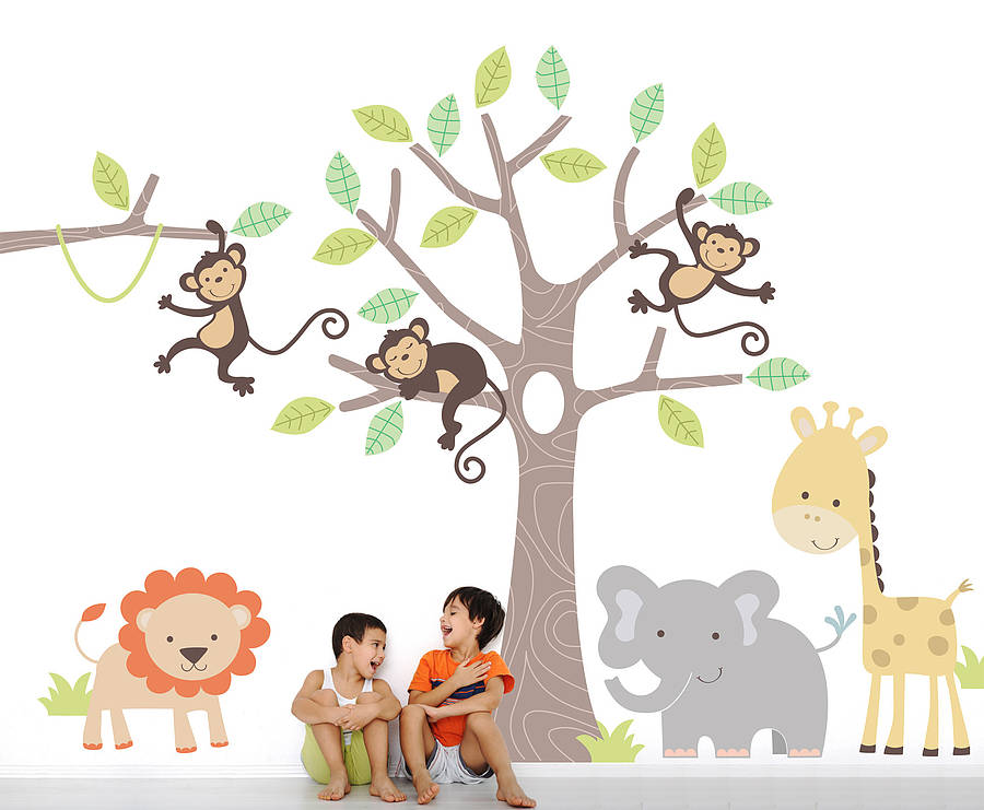 The Wall Stickers For Nursery