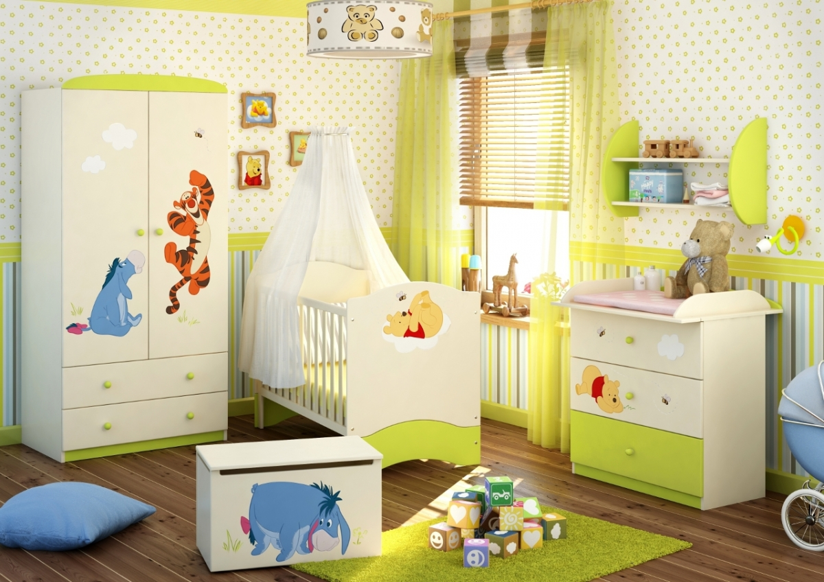 Picture of: The Winnie the Pooh Nursery