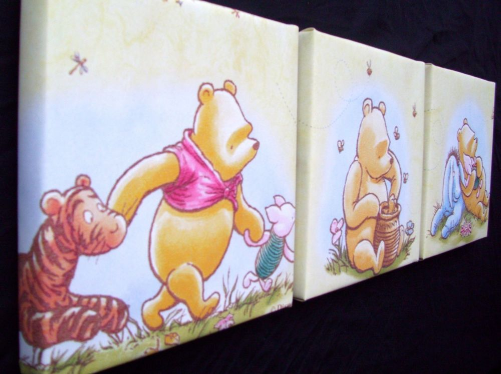Picture of: Then Classic Winnie the Pooh Nursery Wrong