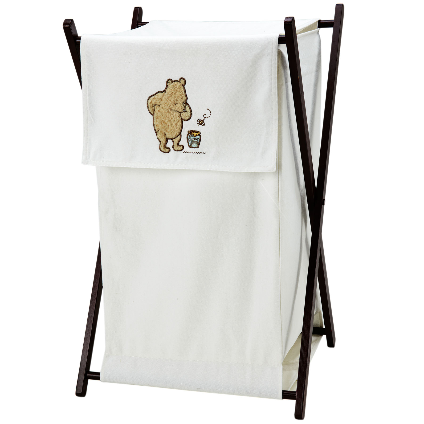 Picture of: Then Classic Winnie the Pooh Nursery white