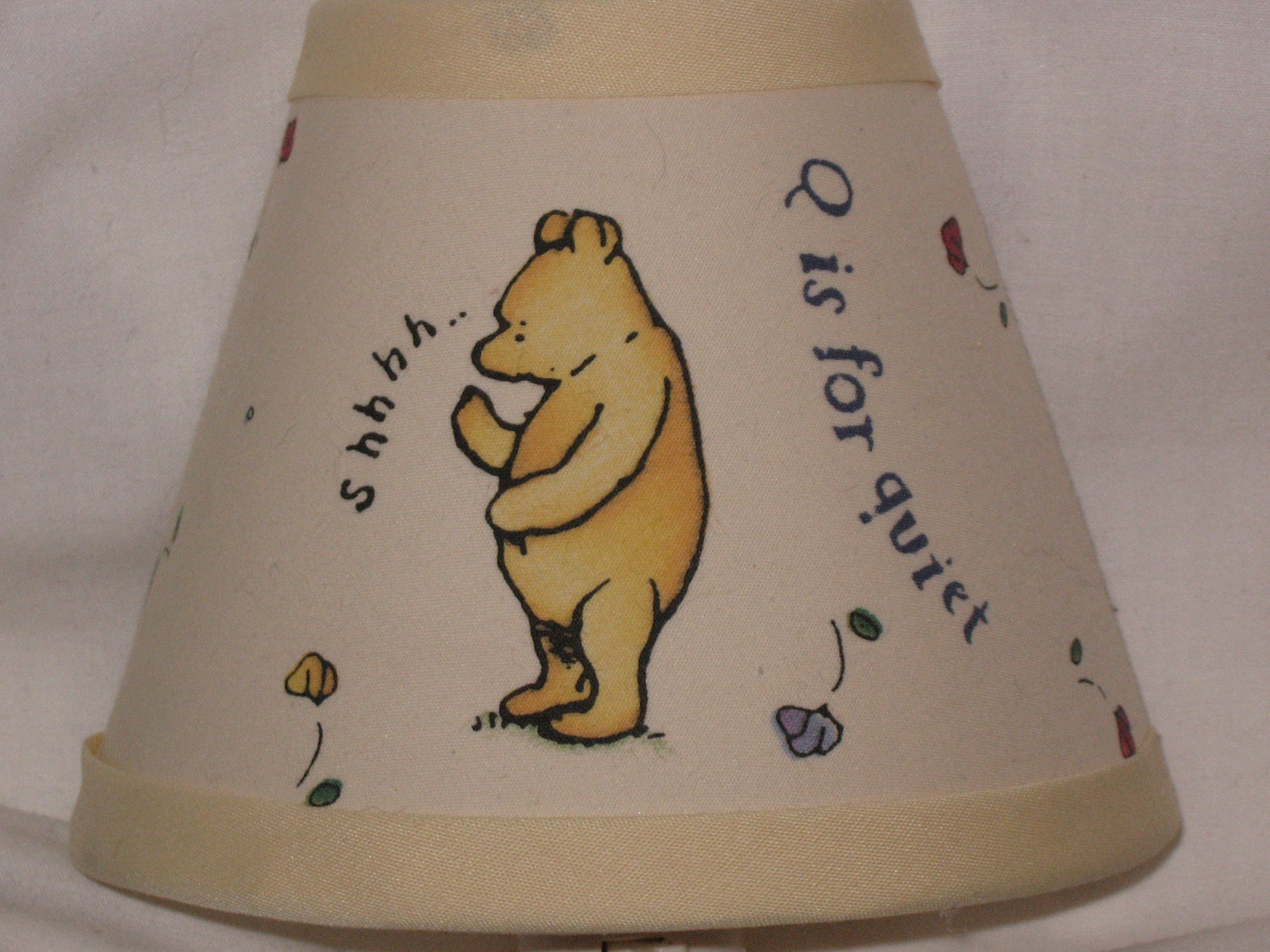 Picture of: Then Classic Winnie the Pooh Nursery yellow
