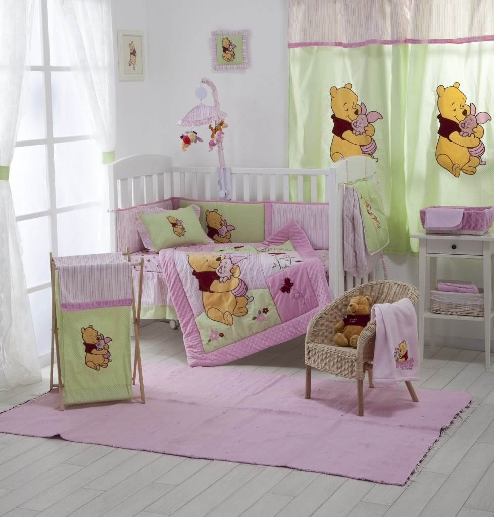 Then Classic Winnie the Pooh Nursery young