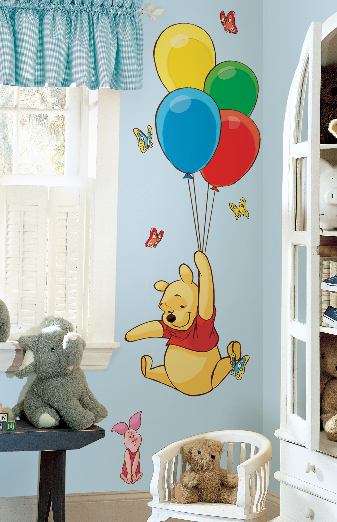 Picture of: Then Classic Winnie the Pooh Nursery zoom