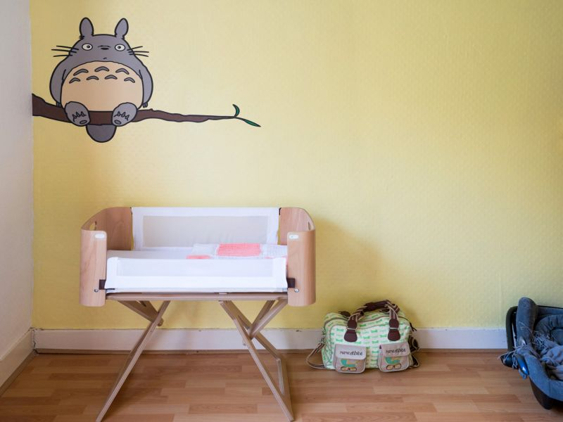 Picture of: Totoro Nursery Baby